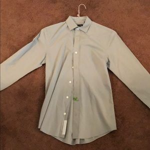 Long sleeve AX armani exchange button up